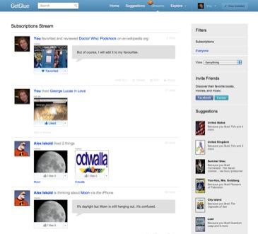 GetGlue website