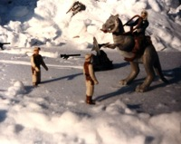 Hoth scene recreation