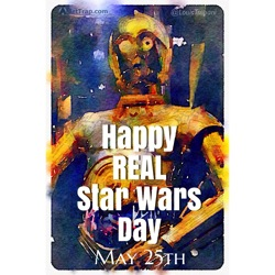 Real Star Wars Day