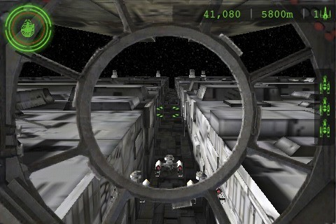 Defending Y-Wings in the trench of the Death Star