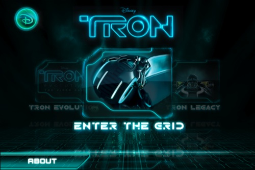 Tron iPhone Game from Disney