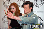 Karen Gillan and Matt Smith in NYC (2)