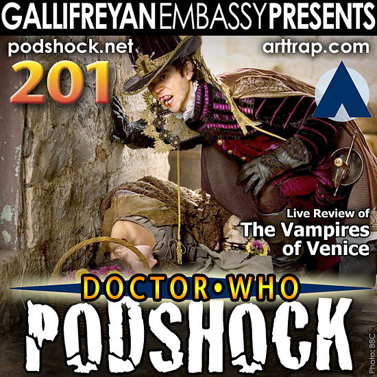 Doctor Who: Podshock 201 Cover