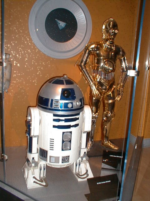 R2-D2 and C-3PO (Magic of Myth)