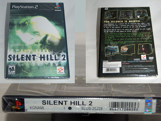 Silent Hill 2 for PS2 on Auction