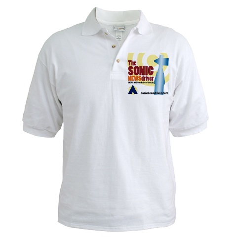Sonic Newsdriver Golf Shirt