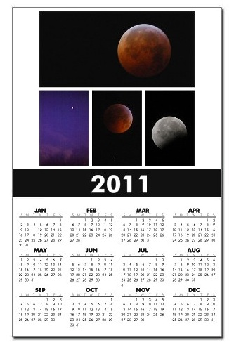 Winter Solstice Lunar Eclipse Calendar
