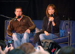 Kai Owen and Naoko Mori at Gallifrey 2009
