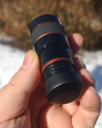 Lens with Reap Cap